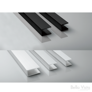 Channel to suit Wall or Floor - Semi Polished