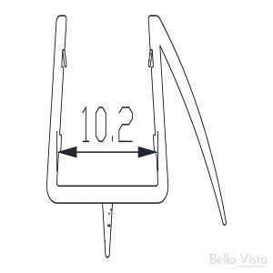 Shower Screen Water Seal – Lower B