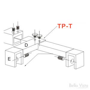 Stabiliser - Hinge Panel Adaptor to suit TPSW