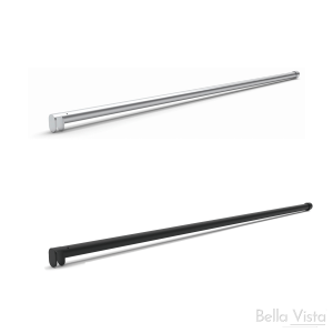Stabiliser - Heavy Duty - Round to suit Shower Screen up to 1500mm Long
