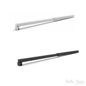 Stabiliser - Square Telescopic to suit Shower Screen