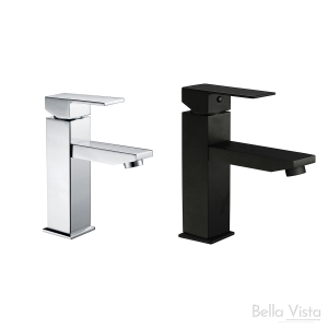 Basin Mixer - Deko Square - Black