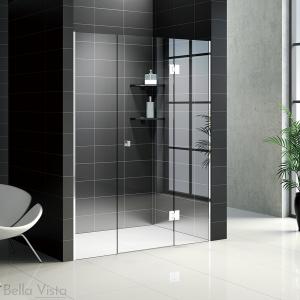 Custom Fully Frameless Shower Screen - Front Only - Multiple Sizes