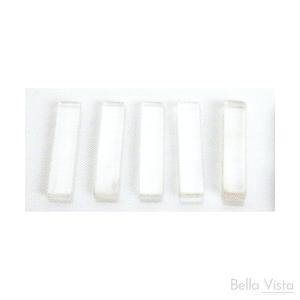 Clear Plastic Setting Blocks 3mm or 4mm