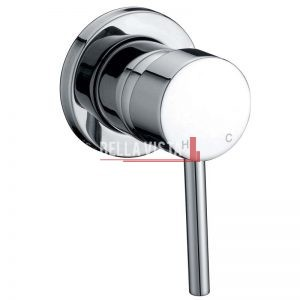 bella vista Shower and Bath Mixer Raco Round Small Backing Plate