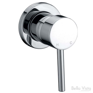 Shower / Bath Mixer – 'Raco' Round