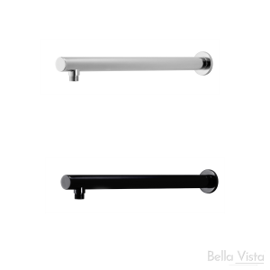 Wall Shower Pipe - 'Raco' Round - 450mm