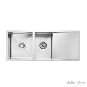 1 and 3/4 Bowl with Drainboard Stainless Kitchen Sink