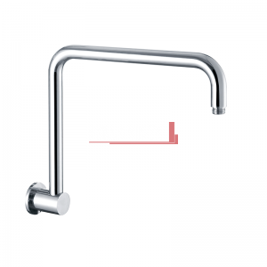 Goose Neck Wall Shower Pipe Raco Round