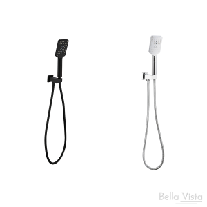 Handheld - Square Shower Head with Wall Bracket