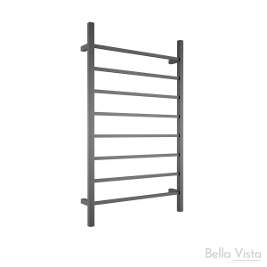 Towel Ladder - Square - 1150 x 700mm - Black