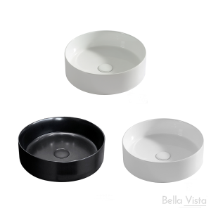 'Round' Ceramic Basin - 360x120mm