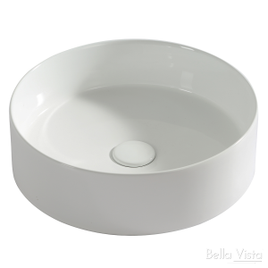 Best 'Round' Ceramic Basin - 360x120mm in 2021 | Bella Vista