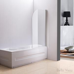 Fully Frameless - Over Bath - Every Day Single Swinging Bath Screen - 750mm