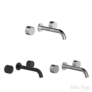 'Capri' Simply Round Spindles and Spout - Wall