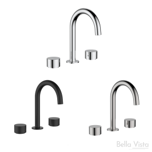 'Capri' Simply Round Spindles and Spout - Basin