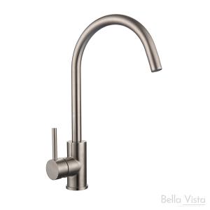 Sink Mixer - 'Naxos' - Stainless Steel