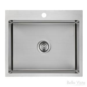 Single Bowl 'BV Trade' - Kitchen Sinks 580 x 500 x 230mm