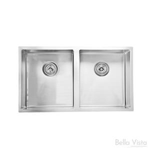 Double Bowl 'BV Trade' - Kitchen Sinks 880 x 440 x 200mm