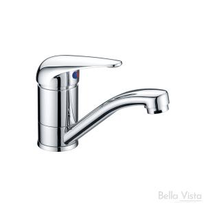 Solid Handle - Basin Mixer